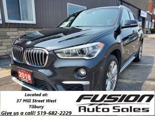 Used 2018 BMW X1 xDrive28i-NAVIGATION-SUNROOF-OFF LEASE-REAR CAMER- for sale in Tilbury, ON