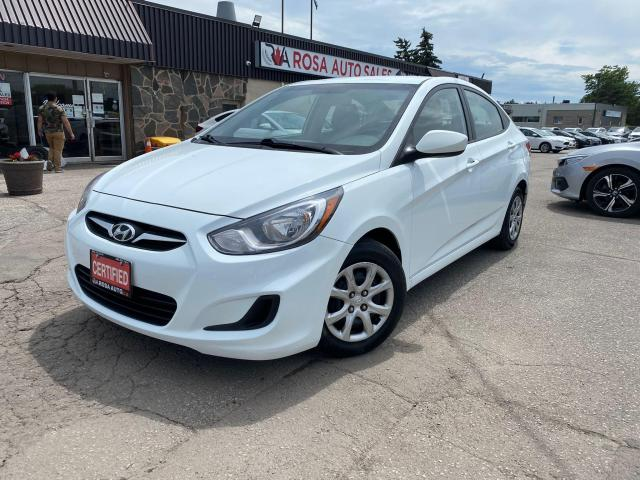 2013 Hyundai Accent 4dr Sdn Auto SAFETY 2 SET OF TIRES CRUISE PW PL PM