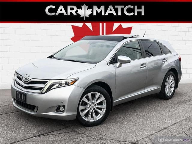 2015 Toyota Venza LIMITED / AWD / LEATHER / ROOF / LOADED