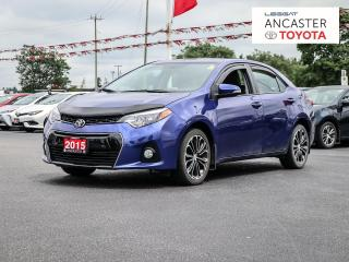 Used 2015 Toyota Corolla S UPGRADE   SUNROOF   ALLOYS for sale in Ancaster, ON