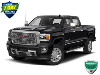 Used 2019 GMC Sierra 2500 HD Denali   CLEAN CARFAX   ONE OWNER   LEATHER   HTD AND VENTED SEATS   TRAILER PKG   for sale in Barrie, ON