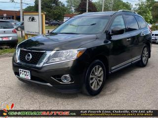 Used 2015 Nissan Pathfinder SL|SINGLE OWNER|LOW KM|SUNROOF|NAV|AWD|CERTIFIED for sale in Oakville, ON
