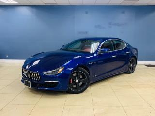 Used 2018 Maserati Ghibli SQ4 GranLusso|No accident|1 Owner|2 Rims Tires|Red for sale in North York, ON
