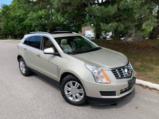 2015 Cadillac SRX LUXURY-ONLY 31,474 KMS!! 1 SENIOR OWNER! NO CLAIMS