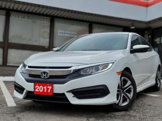 Used 2017 Honda Civic LX Apple Car Play and Android Auto | Backup Camera | Heated Seats for sale in Waterloo, ON