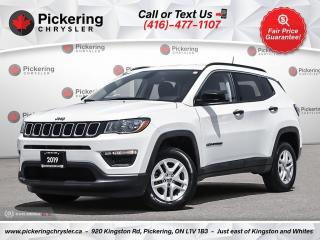 Used 2019 Jeep Compass Sport - REAR CAM/APPLE CARPLAY/4WD/LOW MILEAGE for sale in Pickering, ON