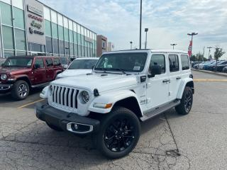 New 2021 Jeep Wrangler 4xe UNLIMITED SAHARA 4XE SKYROOF LEATHER HEATED SEATS for sale in Pickering, ON