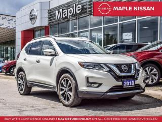 Used 2018 Nissan Rogue SL AWD Apple Carplay 360 Camera Blind Spot Navi for sale in Maple, ON
