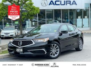 Used 2018 Acura TLX 2.4L P-AWS w/Tech Pkg for sale in Markham, ON