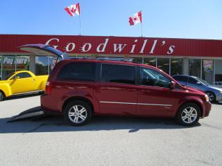 Used 2010 Dodge Grand Caravan WHEELCHAIR RAMP! for sale in Aylmer, ON