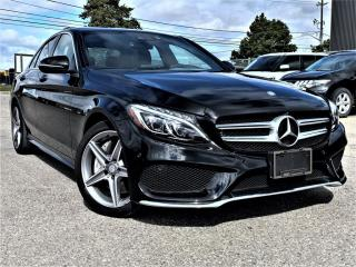 Used 2018 Mercedes-Benz C-Class C300|BIRD EYE VIEW|PANORAMIC|MEMORY SEATS| AMG PKG|ALLOYS! for sale in Brampton, ON