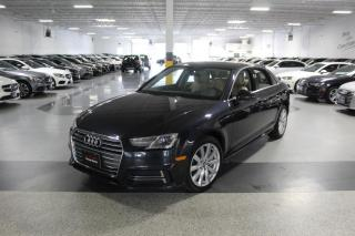 Used 2018 Audi A4 NO ACCIDENTS I SUNROOF I REAR CAM I PUSH START I CRUISE I BT for sale in Mississauga, ON