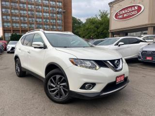 Used 2016 Nissan Rogue SL / LEATHER / CAM / PDC / AWD for sale in Scarborough, ON