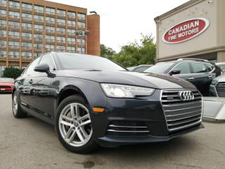 Used 2017 Audi A4 CARPLAY - QUATTRO - BLUETOTH - LATHER for sale in Scarborough, ON