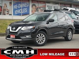 Used 2017 Nissan Rogue SV  CAM P/SEAT HTD-SEATS REM-START 17-AL for sale in St. Catharines, ON