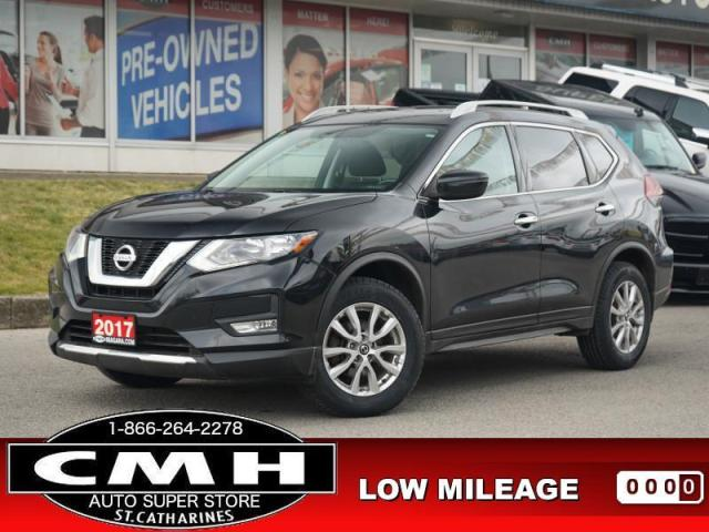 2017 Nissan Rogue SV  CAM P/SEAT HTD-SEATS REM-START 17-AL