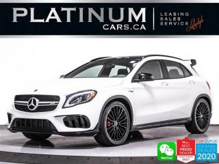 Used 2019 Mercedes-Benz GLA AMG GLA45, 375HP, NIGHT PKG, AMG AERO PKG, NAV,CAM for sale in Toronto, ON