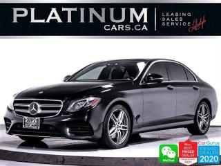 Used 2018 Mercedes-Benz E-Class E400 4MATIC, DISTRONIC PLUS, NAV, PANO, 360 CAM,BT for sale in Toronto, ON