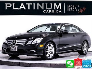 Used 2011 Mercedes-Benz E-Class E550,CAM, NAV, BLUETOOTH, HEATED, PANO for sale in Toronto, ON