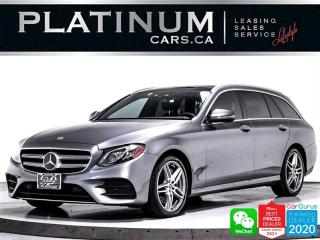 Used 2018 Mercedes-Benz E-Class E400 WAGON 4MATIC, DISTRONIC PLUS, NAV, PANO, CAM for sale in Toronto, ON
