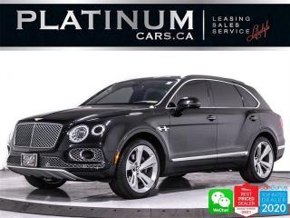 Used 2017 Bentley Bentayga W12, 600HP, EXEC SEAT, MASSAGE, NAV, CAM, VENTED for sale in Toronto, ON
