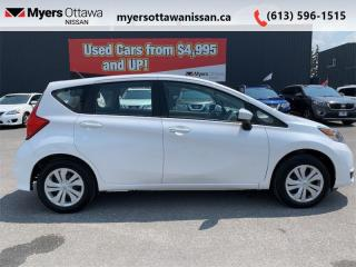 Used 2019 Nissan Versa Note S  - Low Mileage for sale in Ottawa, ON