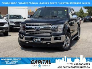 Used 2018 Ford F-150 LARIAT SUPERCREW for sale in Winnipeg, MB