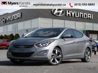 Used 2016 Hyundai Elantra GLS  - $110 B/W - Low Mileage for sale in Kanata, ON