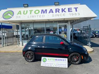 Used 2014 Fiat 500 ABARTH MAN. TRANS. BL.TOOTH! LIKE A ROCKET! FREE BCAA MBRSHP & WRNTY! for sale in Langley, BC