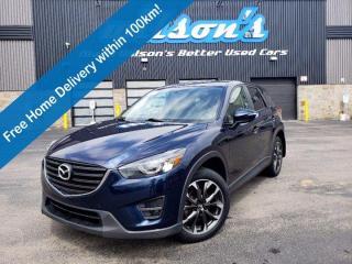 Used 2016 Mazda CX-5 GT AWD - Sunroof, Navigation, Leather, BOSE Audio, 19