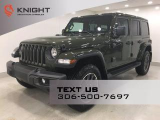 New 2021 Jeep Wrangler Unlimited Sahara 80th Anniversary | Leather | Navigation | for sale in Regina, SK