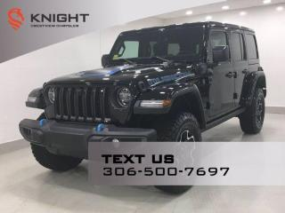 New 2021 Jeep Wrangler 4xe Unlimited Rubicon | Leather | Navigation | for sale in Regina, SK