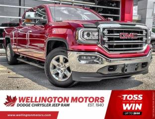 Used 2018 GMC Sierra 1500 SLT | Crew Cab | 4X4 | V8 | Clean CarFax for sale in Guelph, ON