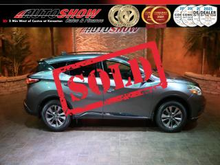 Used 2017 Nissan Murano Low Mileage w/ Heated Seats & Navigation !! for sale in Winnipeg, MB