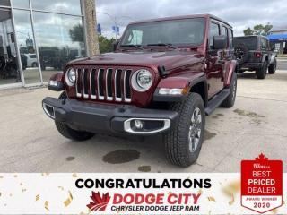 New 2021 Jeep Wrangler Unlimited Sahara-4WD,Leather, Nav, B/U Cam for sale in Saskatoon, SK