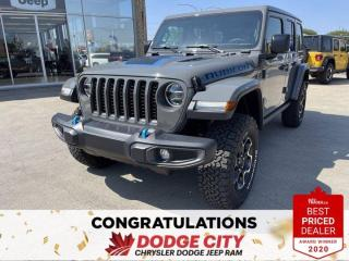 New 2021 Jeep Wrangler 4xe Unlimited Rubicon-4WD,Hybrid,Remote Start,Htd.Seats for sale in Saskatoon, SK