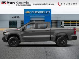 New 2021 Chevrolet Silverado 1500 LT Trail Boss for sale in Kemptville, ON