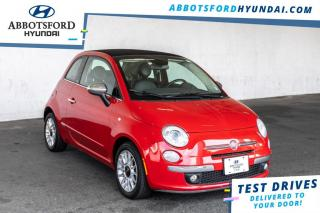 Used 2014 Fiat 500 C Lounge  - Leather Seats - $100 B/W for sale in Abbotsford, BC
