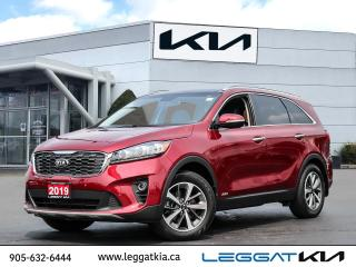 Used 2019 Kia Sorento EX Premium/ AWD/BLIND SPOT/7 SEATER/ LEATHER /SUNROOF/UVO INTELLIGENCE/MUCH MORE! for sale in Burlington, ON