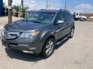 Used 2008 Acura MDX 4WD/7PASSENGER/1OWNER/NOACCIDENT/LEATHER/CERTIFIED for sale in Toronto, ON