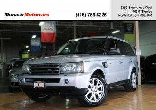 Used 2007 Land Rover Range Rover Sport HSE V8 - LEATHER|SUNROOF|NAVIGATION for sale in North York, ON