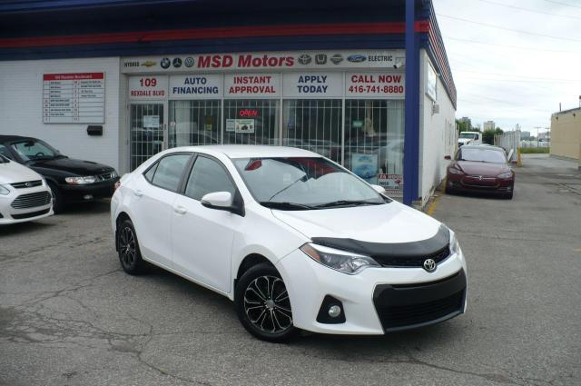 2016 Toyota Corolla S / ALLOY / ONE OWNER/LOW KM