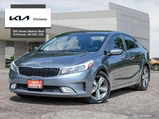 Used 2018 Kia Forte LX+ AT for sale in Kitchener, ON