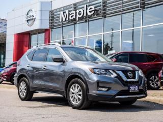 Used 2018 Nissan Rogue SV AWD Apple Carplay Blind Spot Remote Starter for sale in Maple, ON