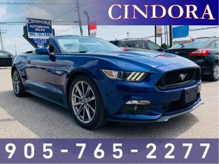 Used 2015 Ford Mustang GT Premium, Auto, Leather, NAV for sale in Caledonia, ON