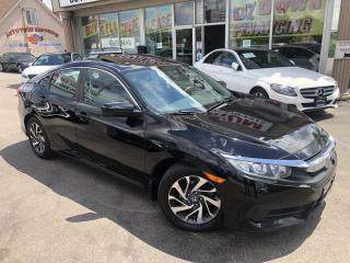 Used 2016 Honda Civic EX Sunroof/Camera/Alloys/Navigation for sale in Mississauga, ON