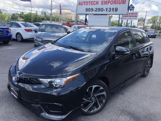 Used 2017 Toyota Corolla iM Camera/Heated Seats/Collision Detection&ABS* for sale in Mississauga, ON
