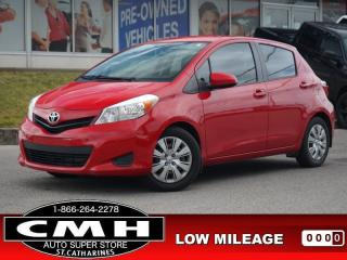 Used 2014 Toyota Yaris LE  BLUETOOTH CRUISE-CTRL PWR-GROUP A/C for sale in St. Catharines, ON