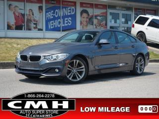 Used 2017 BMW 4 Series 430i xDrive AWD Gran Coupe  NAV ROOF LEATH 18-AL for sale in St. Catharines, ON