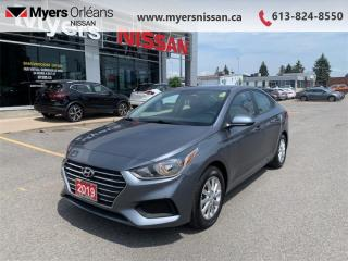 Used 2019 Hyundai Accent Essential w/ Comfort  -  USB Port - $110 B/W for sale in Orleans, ON